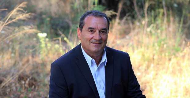 François Filoni, conseiller municipal d'Ajaccio délégué à la propreté urbaine et 11 ème Vice-Président de la CAPA.