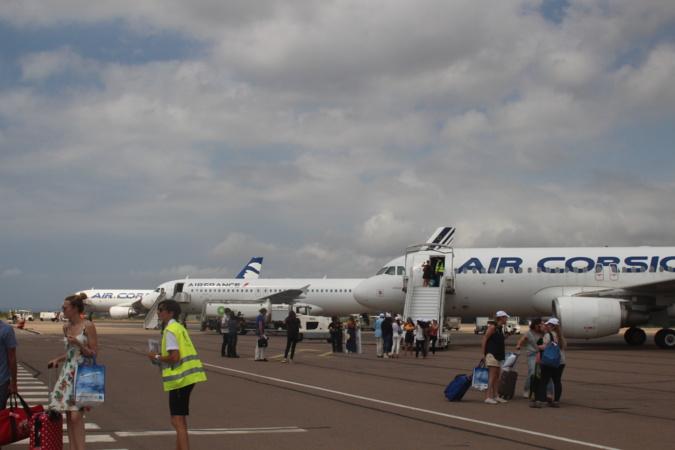 Trafic fortement perturbé à l'aéroport Calvi-Balagne en raison du vent