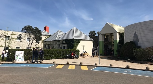Le lycée agricole de Borgo.
