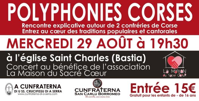 Bastia : Concert au profit de « La Maison du Sacré Cœur» qui ouvrira fin septembre...