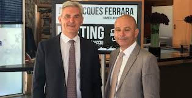 J.J. Ferrara et son suppléant, Xavier Lacombe