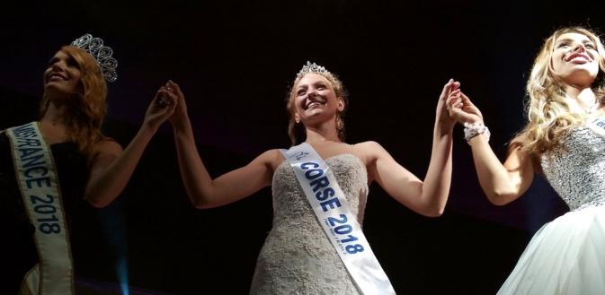 """Manon Jean-Mistral sacrée Miss Corse 2018 à Porticcio : """"Tout le travail qu'a fait Eva Colas, je vais m'attacher à le faire aussi"""""""