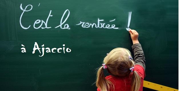 Horaire de rentrée des classes du mercredi 5 septembre sur Ajaccio, et du collège du Taravo