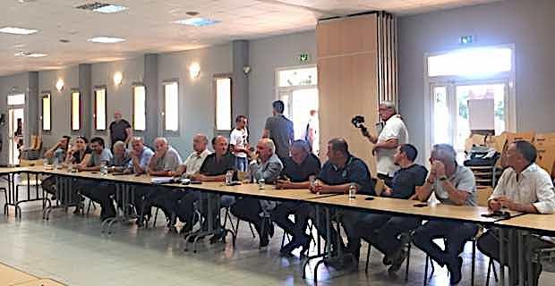 Les élus de la Communauté de communes de Fiumorbu-Castellu lors d'une récente réunion