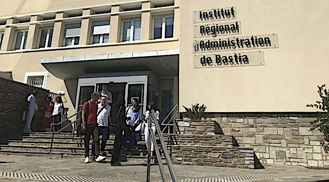 Bastia : La 38 ème promotion de l'IRA fait sa rentrée