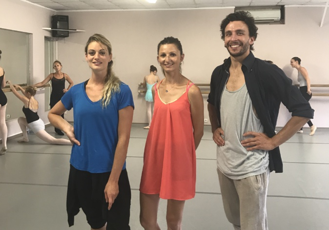 Tiphaine Appelhans, Sarah Schiratti et Simon Ripert