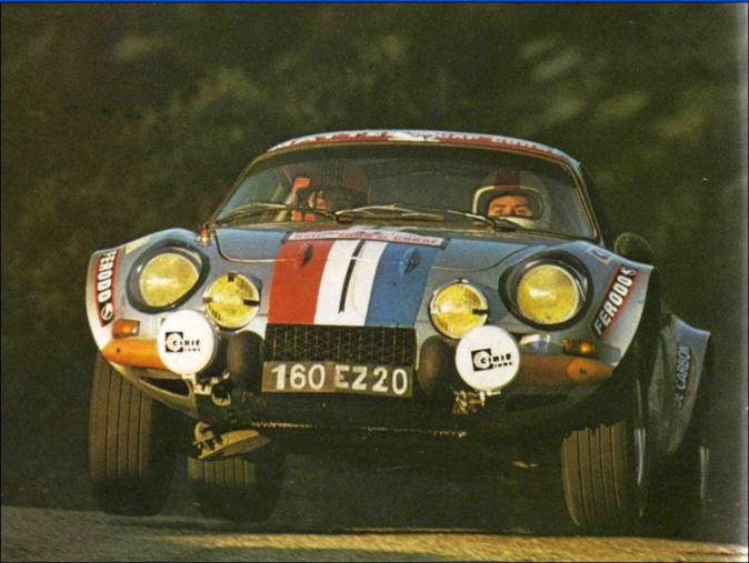 Au volant de l'Alpine Renault