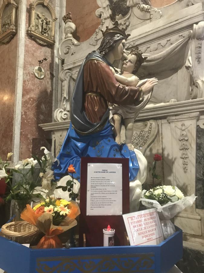 Le sanctuaire de Lavasina prépare la fête du 8 septembre