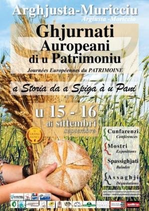 Arghjusta è Muricciu: Le blé et le pain à l'honneur pour les Journées du Patrimoine