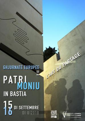 Journées européennes du Patrimoine : Pour découvrir  Bastia  dans  toute  sa  diversité