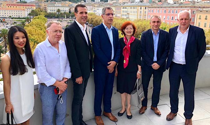 Lu Huiying, Consule de Chine à Marseille, en Haute-Corse