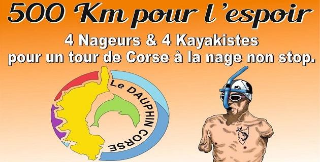 Handi-performance : Thierry Corbalan tente à nouveau le tour de Corse à la nage