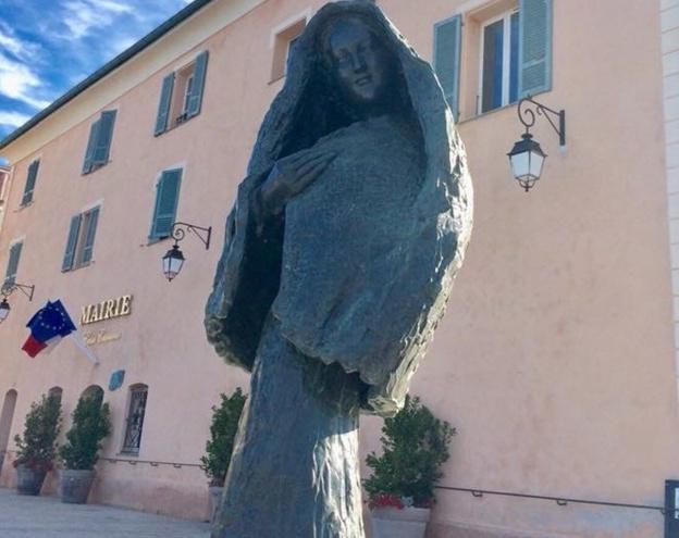 La statue de Gabriel Diana prêtée à la ville de l'Ile-Rousse vandalisée  !