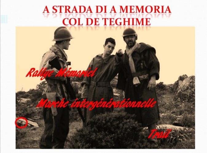 Col de Teghime : A Strada di a Memoria pour les collégiens
