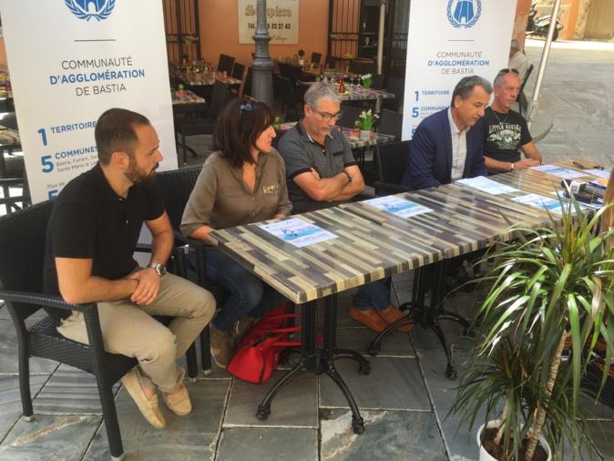 François Tatti et la CAB ont présenté la Fête nautique du 23 septembre