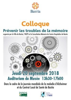Bastia: Un colloque consacré à la prévention des troubles de la mémoire