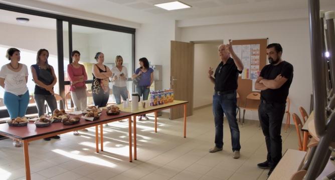 La nouvelle cantine scolaire d'U Munticellu présentée aux parents d'élèves