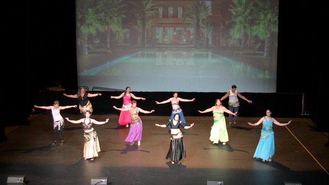La danse orientale sera présente au Festival