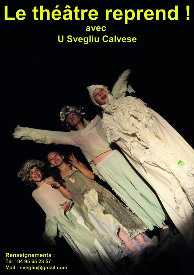 Les cours de théâtre reprennent au Svegliu Calvese