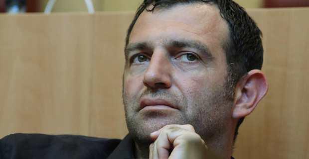 Jean-Charles Orsucci, conseiller territorial LREM, président du groupe Andà per Dumane et maire de Bonifacio. Crédit photo M.L.