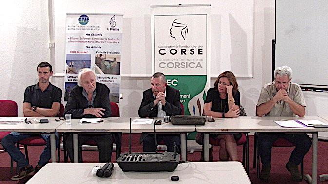 """Le CPIE, l'Office de l'environnement de la Corse, la DRAF et le lycée agricole de Borgo ont présenté le salon """"Fin du glyphosate, tous concernés"""""""