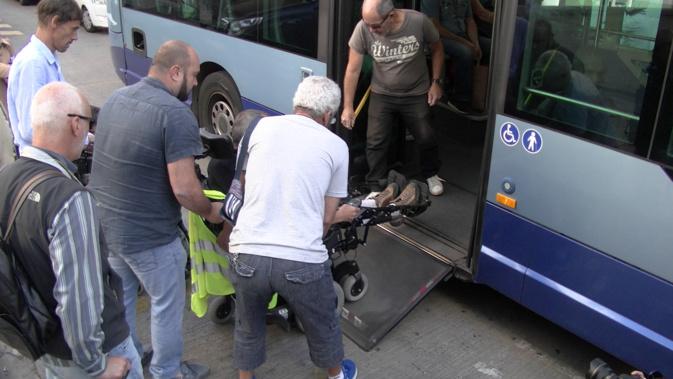 Bastia : Le parcours du combattant des handicapés pour prendre le bus !