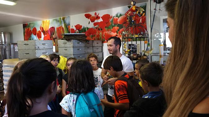 Agri'Gusti : L'école de Cardu à la miellerie de Lavasina