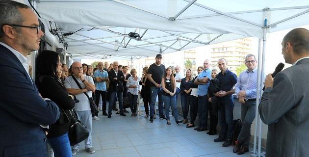 Un public nombreux à inauguration en présence  de Mr Miragliotta, Directeur général du CH de Castelluccio, du Dr Cattino, médecin chef de pôle de psychiatrie adulte du CH de Castelluccio et du Dr Roubaud, médecin responsable de l'addictologie à l'ARS Corse / Photos Michel LUCCIONI