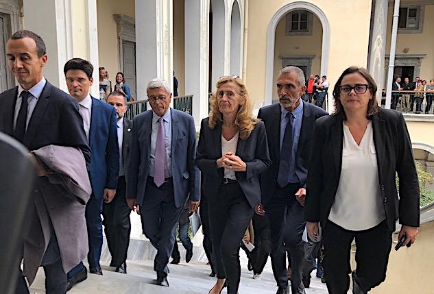 """A Bastia  :""""Maintenir des réactions puissantes en termes judiciaires contre la criminalité"""""""
