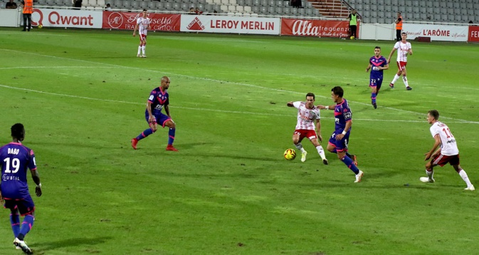 Ligue 2 - Le Red Star domine l'ACA (2-0)