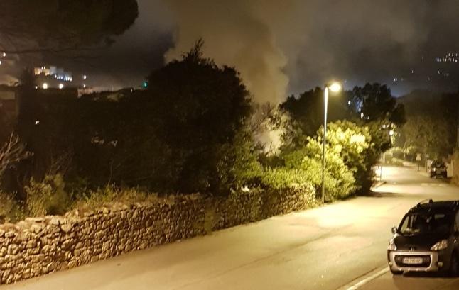 Voiture incendiée à Calvi