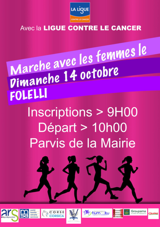 Marche contre la cancer à Folelli
