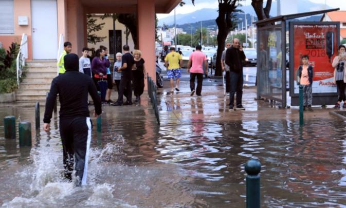 Pluie diluviennes sur Ajaccio dimanche soir : Les explications de la municipalité