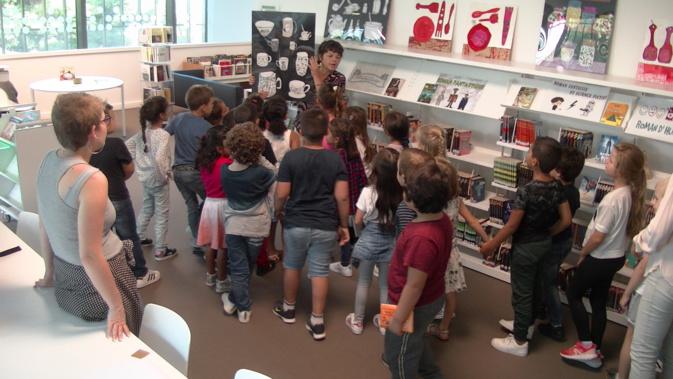 Les CP de l'école Defendini ont été ravis de l'atelier mis en place par Armelle Guissani