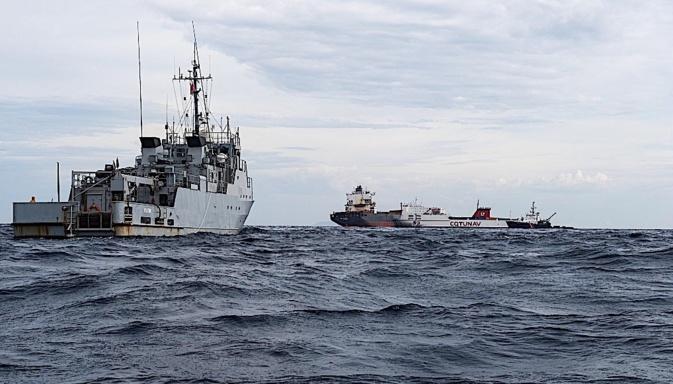 Collision maritime : Prévenir tout risque de pollution au Nord du Cap Corse