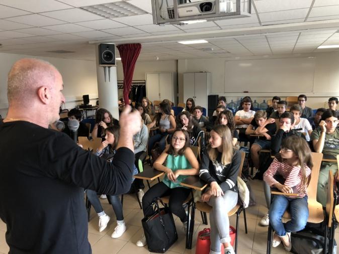 A Filetta rencontre les élèves du collège Pascal Paoli de Lisula