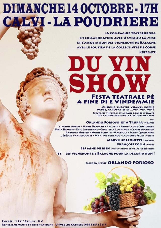 """Du """"Vin Show"""" dans la citadelle de Calvi !"""