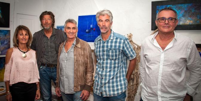 Valérie Dragacci, Hervé Monier, Jean-Pierre Tralonca, Oliv'ine, Alain Olivieri / photo : JP Tralonca & AY Torre