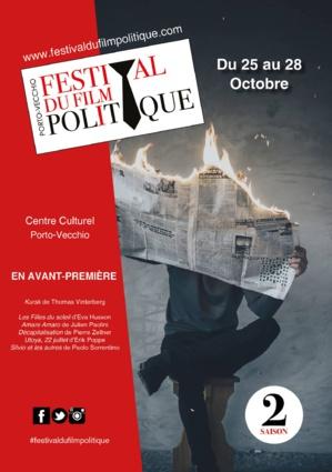 25 au 28 octobre : Saison 2 du Festival du film politique à Porto-Vecchio