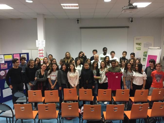 Octobre rose : Des élèves bastiais récoltent près d'un millier d'euros !