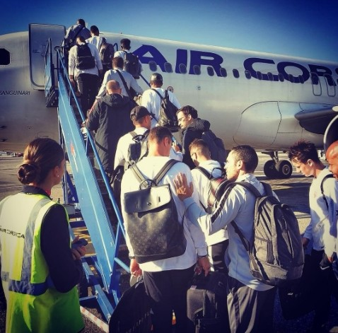 L'AS Monaco affréte un avion d'Air Corsica pour son déplacement de Ligue des Champions à Bruges !