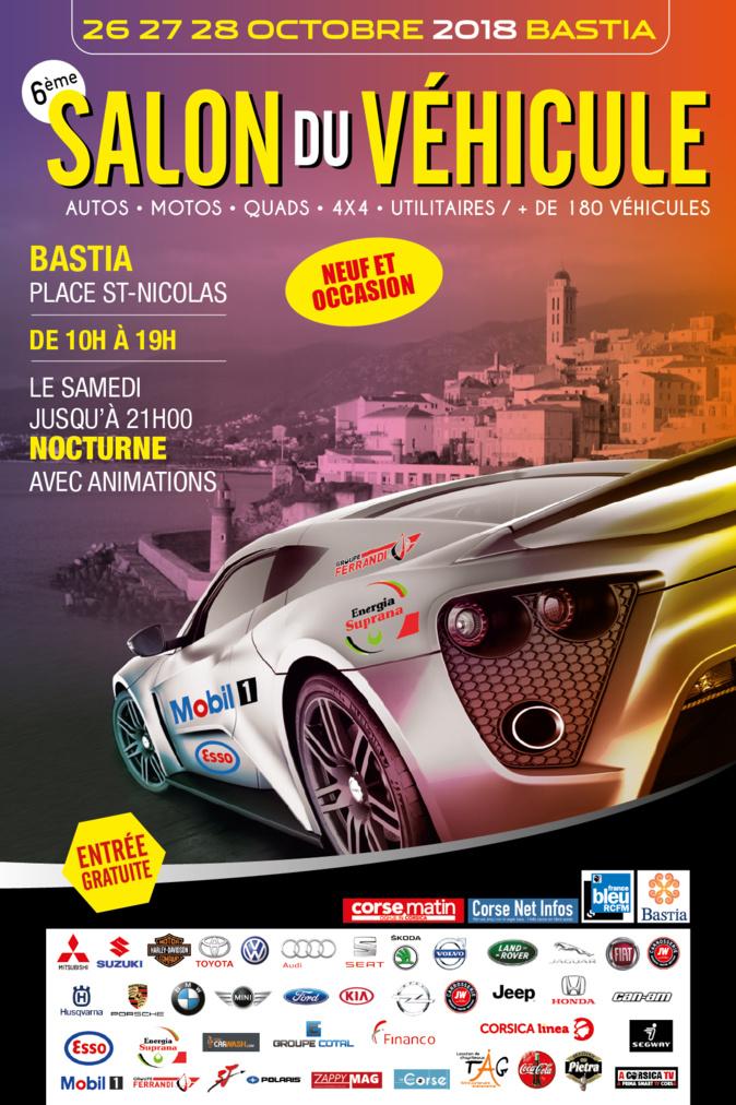 Salon de l'auto 2018: La passion pour l'automobile s'expose à Bastia