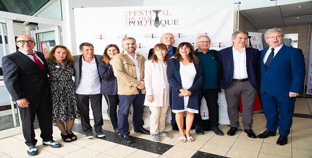 Les mebres fondateurs du festival  et ceux du jury de cette seconde édition
