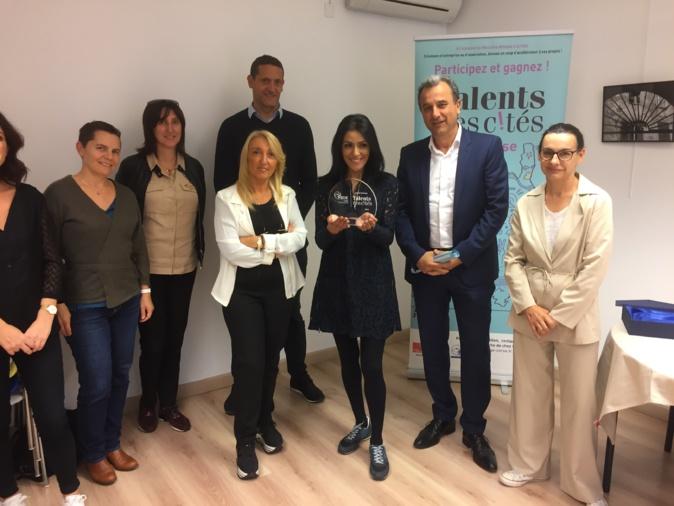 Lauréate de la Catégorie « Emergence » : Sihame KRIMI pour son projet de Hammam