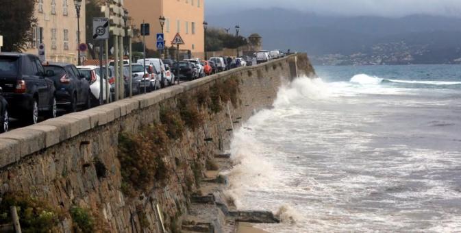 Au lendemain de la tempête Adrian : Plusieurs sites fragilisés à Ajaccio