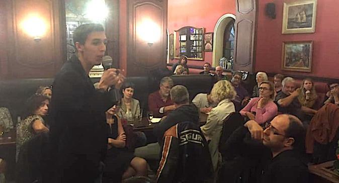Première assemblée de la saison du Café-philo au Café des Palmiers