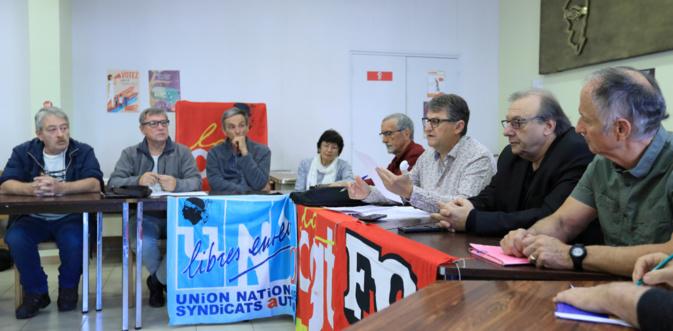 Rencontres organisations syndicales-CdC et CAPA : Retraités, jeunes, transports au cœur du débat