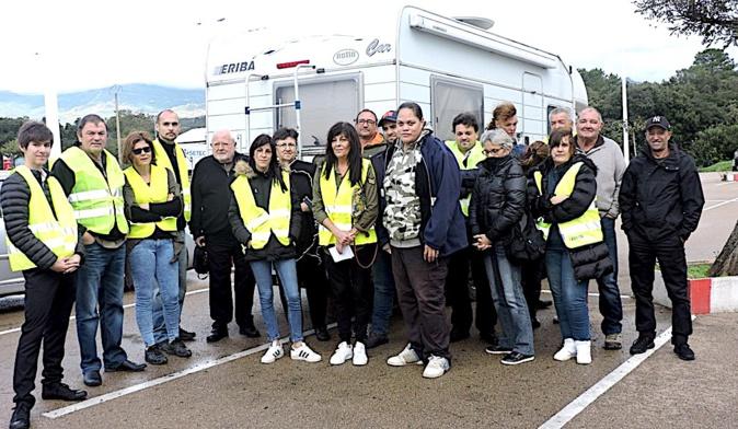 """Les """"gilets jaunes"""" se mobilisent à Porto-Vecchio"""