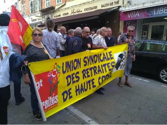 Haute-Corse : La grogne des retraités contre la hausse de l'essence