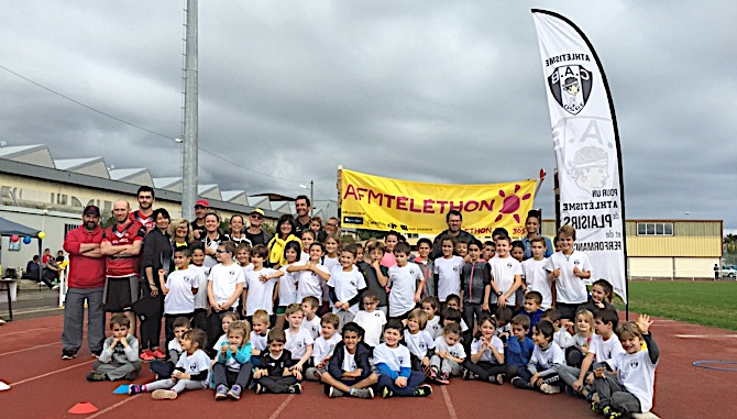 La jeunesse a participé en nombre à cette belle manifestation organisée par le CAB Athlétisme